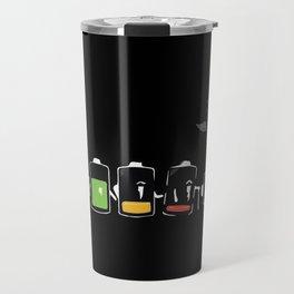 Battery Life Travel Mug