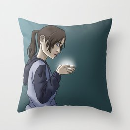 Joan Messi [textless] Throw Pillow