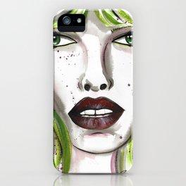 Leticia iPhone Case