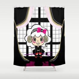 Angelamb's Window Shower Curtain