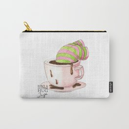 All you need is hug... and more coffee! Carry-All Pouch