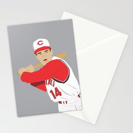 Reds - Pete Rose - 1965 (Vector Art) Stationery Cards