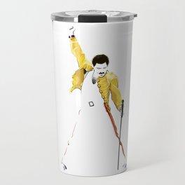 Queen at Wembley Stadium in 1986. Travel Mug