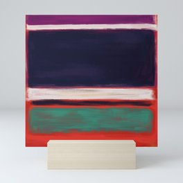 Rothko Inspired #12 Mini Art Print