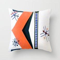 Tick Tac Toe Throw Pillow