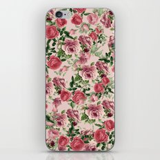 FLORAL PATTERN 09a iPhone & iPod Skin
