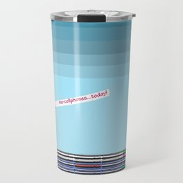 The Long Boat Taking Cellphones for May in May Travel Mug