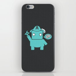 Ninja Pirate Robot Zombie iPhone Skin