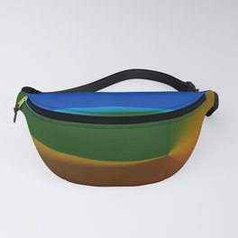 Dunes Sea and Sky Fanny Pack