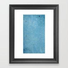 Breath Underwater Framed Art Print