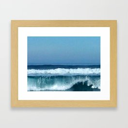 Pacific Wave Framed Art Print