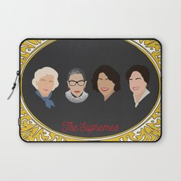 Supreme Court Justice Ruth Bader Ginsburg's in frame Laptop Sleeve