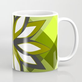 Green blossom Coffee Mug