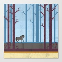 woods Canvas Prints featuring Woods by Kakel
