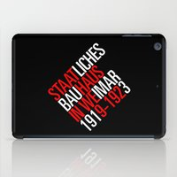 bauhaus iPad Cases featuring Staatliches Bauhaus by THE USUAL DESIGNERS