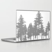 forrest Laptop & iPad Skins featuring Forrest by Dan Parker