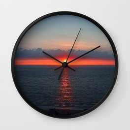Deauville Vibes Wall Clock