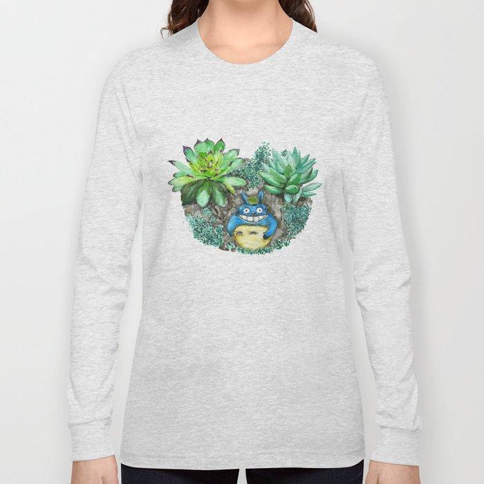 succulent plant set Long Sleeve T-shirt