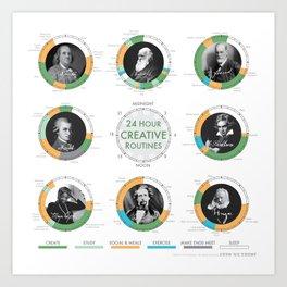Creative Routines Art Print