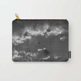 Plane and storm Carry-All Pouch
