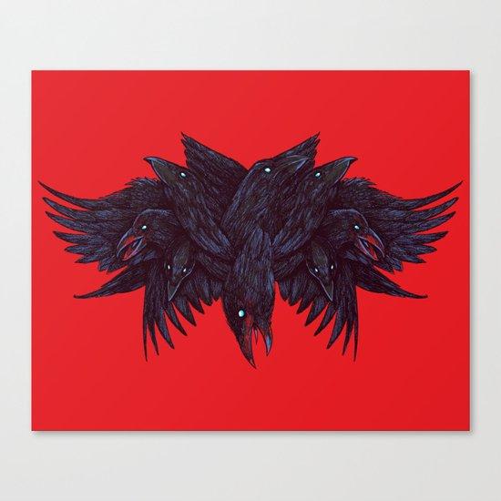 Crowberus Canvas Print