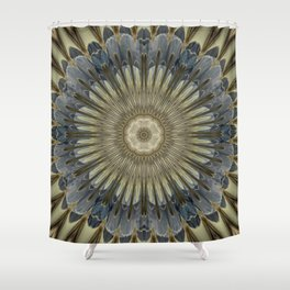 Stay cool floral mandala Shower Curtain