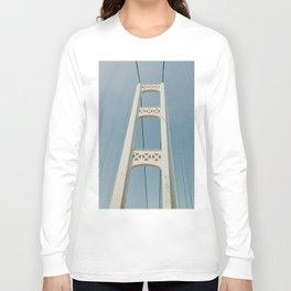 Mackinaw Bridge Long Sleeve T-shirt