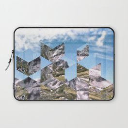Mountain Fragments Laptop Sleeve