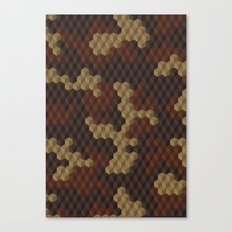 CUBOUFLAGE LUXE Canvas Print