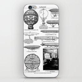 Airships / Air Balloons II iPhone Skin