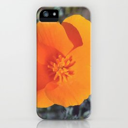 Golden Petals iPhone Case