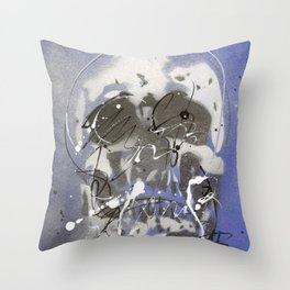 Skull #2 Throw Pillow