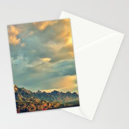 Mountain sounds Stationery Cards