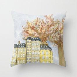 Where Do You Live Throw Pillow