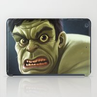 hulk iPad Cases featuring Hulk by Jeff Delgado