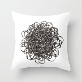 Second Cycle  Throw Pillow