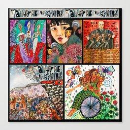 Hadestown Collage Canvas Print