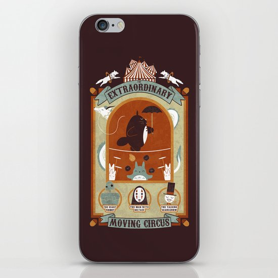 The Moving Circus iPhone Skin