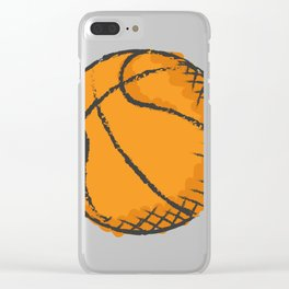 Basketball Best Basketball Player & Fan Gift Clear iPhone Case