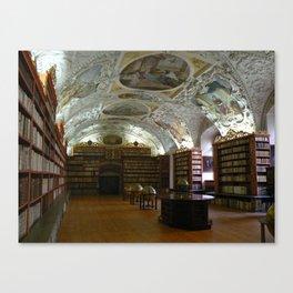 Monastery Library, Prague 2011 Canvas Print