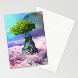 spectator of worlds Stationery Cards