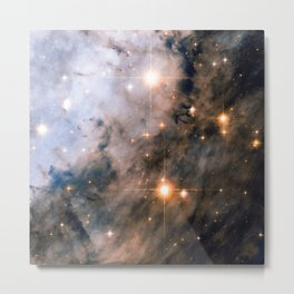 Into the Depths of the Eagle Nebula Metal Print