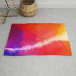 For the Love of Color Rug