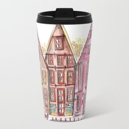 Coloured houses II Travel Mug