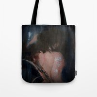 imagerybydianna Tote Bags featuring all hallow's eve  by Imagery by dianna