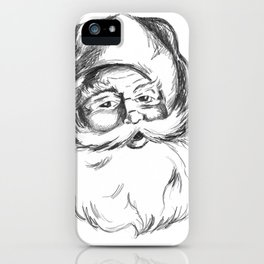 Jolly St. Nick iPhone Case