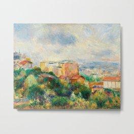 Pierre-Auguste Renoir - View From Montmartre Metal Print