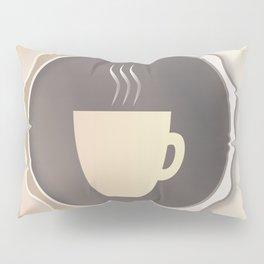 Coffee Background Pillow Sham