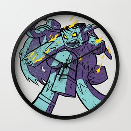WonderCraft - Burning Zombie Wall Clock
