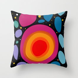 Galaxy Abstract Pattern Minimalist Decoration Throw Pillow